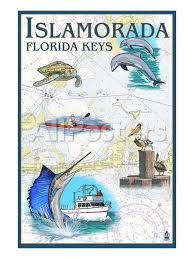 Boat Chart Islamorada Florida Keys Nautical Chart