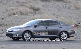 2012 Toyota Camry Spy Photos – News – Car and Driver