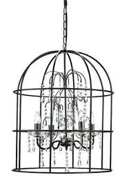 bird cage chandelier fancy large