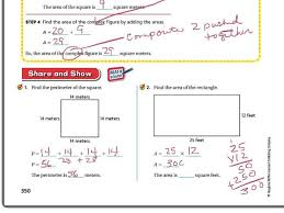 Area And Perimeter Of Rectangles Math Worksheets Grade 6 ~ Koogra