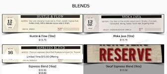 Coffee is fantastic, menu is. Resilient Coffee Roasters Menu In Richland Washington