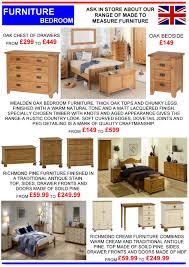 Richmond Bedroom Furniture Range Bedroom Trading 4 U