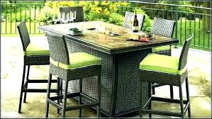 outdoor pub table and chairs outdoor bar ure with umbrella table chairs patio outside and high