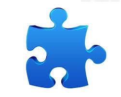 Single Jigsaw Puzzle Piece 3d Symbol Psdgraphics