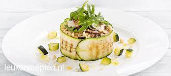 Vegetarische hoofdmaaltijd