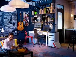blue white office space. flair dark blue decor music room dallascustomhomebuilders white office space a