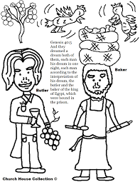 Joseph in Jail Coloring Page | Church House Collection Blog ...