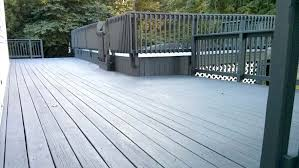 wood deck cost. Cost To Stain Deck Multilevel Stained Charcoal Gray Refinish A Wood .