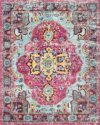 bohemian area rugs awesome features material 100 polypropylene frisee style vintage