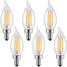led lights for chandelier. High-quality LETO CA11 4W Candelabra LED Bulbs Dimmable ,UL Listed-40W Light Led Lights For Chandelier F