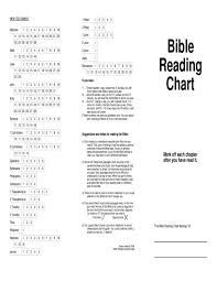 Bible Reading Chart By Riverside Ministries Issuu