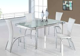 glass dining table set rectangle walnut glass top dining table