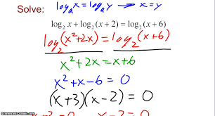 more practice solving exponential and logarithmic equations