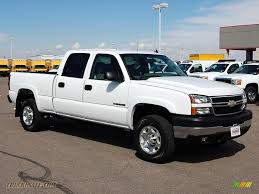 2006 Chevrolet Silverado 2500HD LT Crew Cab 4x4 in Summit White ...