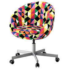 colorful office chairs. Plain Office Chair Skruvsta Swivel Vissle Grey Ikea For Colorful Desk Chairs  Decorating Fun Office Throughout