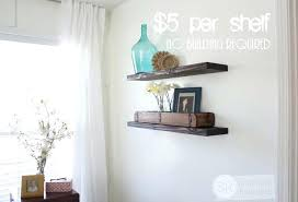 how to hang a floating shelf how to hang floating shelves unique quick easy amp budget how to hang a floating shelf