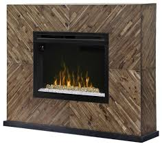 dimplex harris electric fireplace mantel acrylic in cassia
