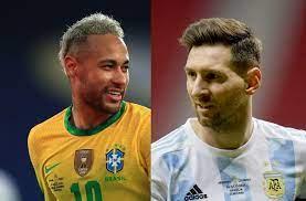 la final Argentina vs. Brasil ...