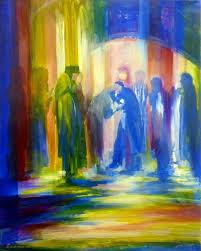 79 best israeli artist yoram raanan images on pinterest jewish throughout jewish canvas wall art on modern jewish wall art with wall art ideas jewish canvas wall art explore 7 of 15 photos