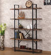 Industrial style furniture Stand Image Unavailable Amazoncom Amazoncom Ok Furniture 5shelf Industrial Style Bookcase And