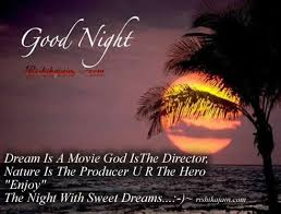 Sweet Dreams Movie Quotes Best of Dream Is A Movie God IsThe Director''''' Inspirational Quotes