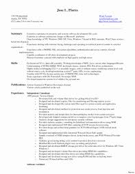 Android Developer Resume Resume For Experienced Software Engineer New Android Developer 13