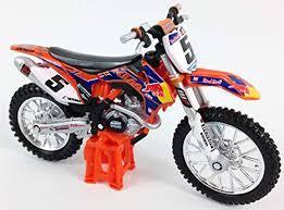 ryan dungey fabbrica redbull ktm sxf 450 motocross bicicletta cast modello giocattolo 1