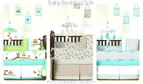 neutral crib bedding sets awesome owl baby nursery bedding gender neutral crib bedding sets on crib