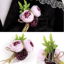 groom wedding boutonnieres corsage flowers wedding corsage prom boutonniere flowers high qaulity wedding boutonniere for guests silk wedding flowers