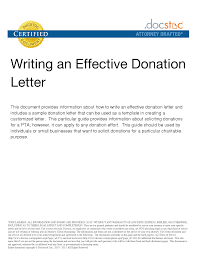 Sample Donation Letters Thank You Letter For Donation Pdf Ideas