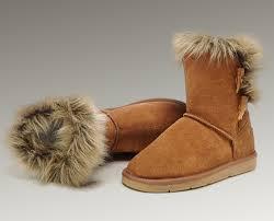http   www.pickmybestboots.net  UGG Fox Fur Short Boots 5685