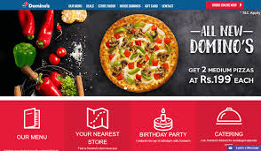 browse for the best deals and offers on dominos pizza delivery on topcashback