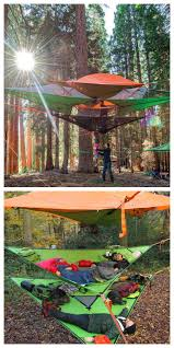 Hanging Tree House This Tent Takes Camping To A Whole New Level Treehouse Tents