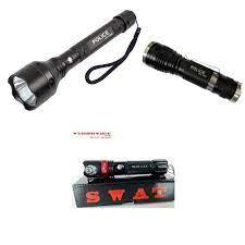 Đèn pin siêu sáng Police, đèn pin Police T6 và sự thật