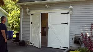 unthinkable garage door for barn clingerman custom wood clearville p a less rv window mid century modern farmhouse double residential fort