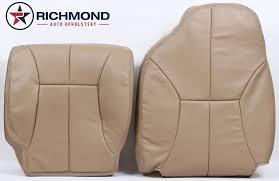 1999 dodge ram 1500 slt quad cab driver side complete leather seat covers tan