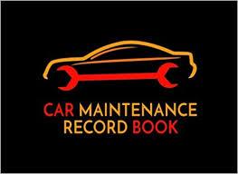 Car Maintenance Record Car Maintenance Record Book Repair Log Book Dartan Creations
