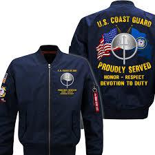 Marine Science Technician Uscg Marine Science Technician Mst Flight Bomber Jacket In