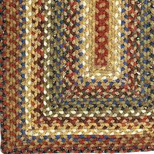 cotton braided rugs country primitive jute ultra durable rag barn made in usa cotton braided rugs