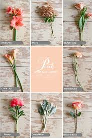 types of flowers in bouquets. romantic peach wedding bouquet types of flowers in bouquets w