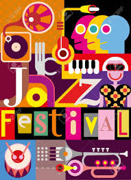 collage fonts free musical abstract collage vector illustration with musical