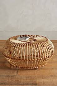 12 round coffee tables we love the everygirl rattan table austra