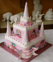 Desserts By Dawn Princess Castle Cake
