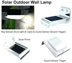 outdoor solar wall lights. Solar Outdoor Sconces Wall Lights Best