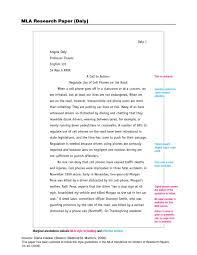 003 Research Paper Mla Format 7th Museumlegs