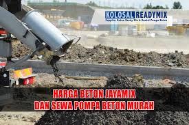 Penggunaan beton jayamix sangat meningkat. Harga Cor Jayamix Cikarang Selatan Bekasi Kolosal Ready Mix