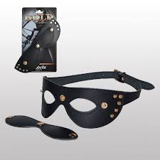 <b>Кожаная маска с шорами</b> Sitabella Gold Collection | Маски, кляпы ...