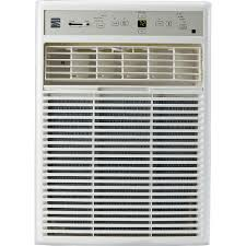 Home Air Conditioner Units Kenmore 77223 10 000 Btu 115v Window Mounted Mini Compact Air