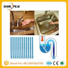 12pcs set sewer rod drain cleaner sticks kitchen toilet bathtub sewage decontamination to deodorant sewer cleaning tool