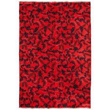 mid 20th century turkish art deco zeki muren rug wool on cotton for
